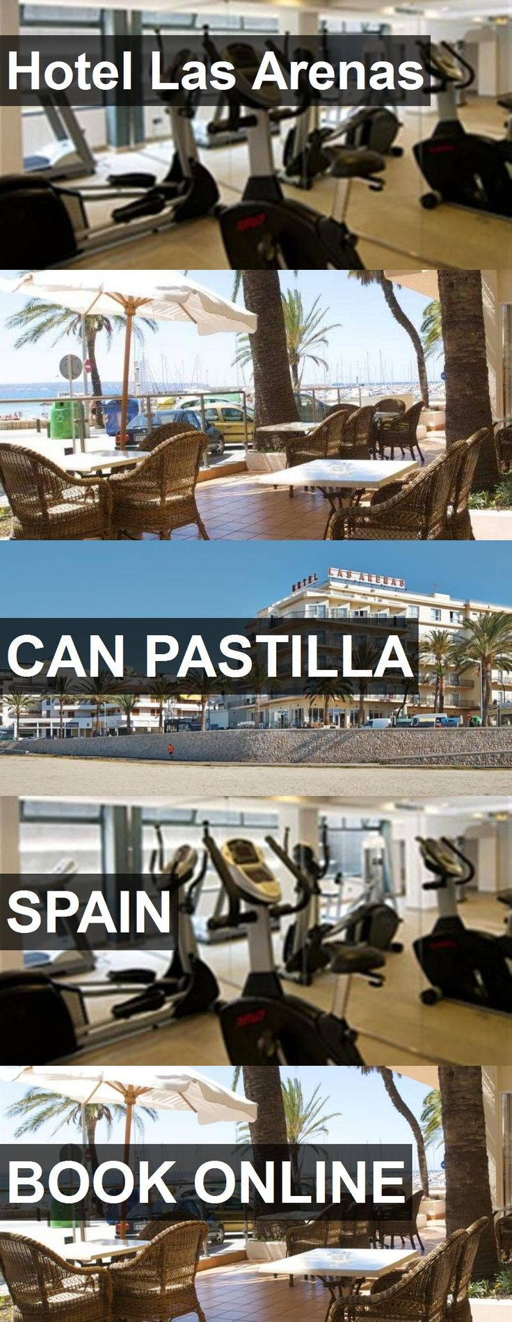 Hotel Las Arenas in Can Pastilla, Spain. For more information, photos, reviews and best prices please follow the link. #Spain #CanPastilla #travel #vacation #hotel