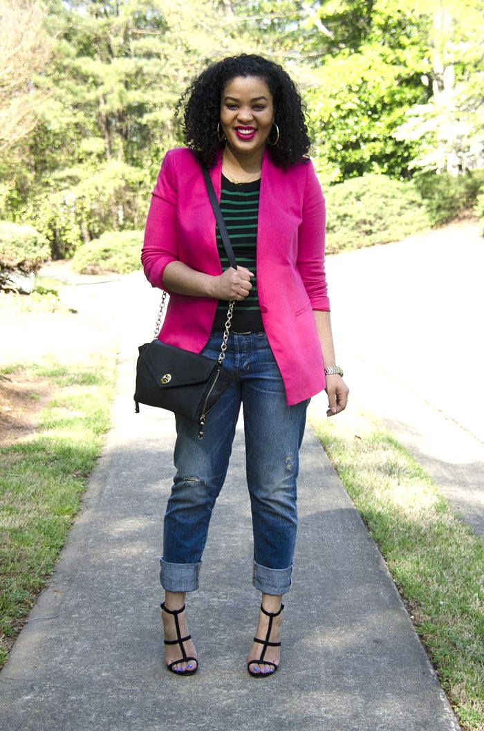 17 Best images about How to Wear My PINK Blazer on Pinterest ...