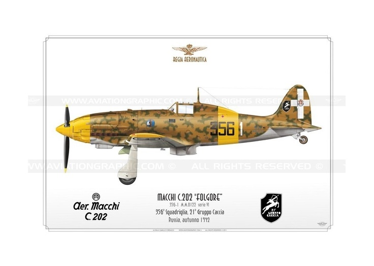 """C.202 """"Folgore"""" 356-1 CC-11"""