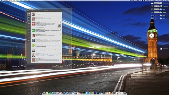 How to take a screenshot in Mac OS X Of your entire desktop: Command + Shift + 3  Of a specific window: Command + Shift + 4