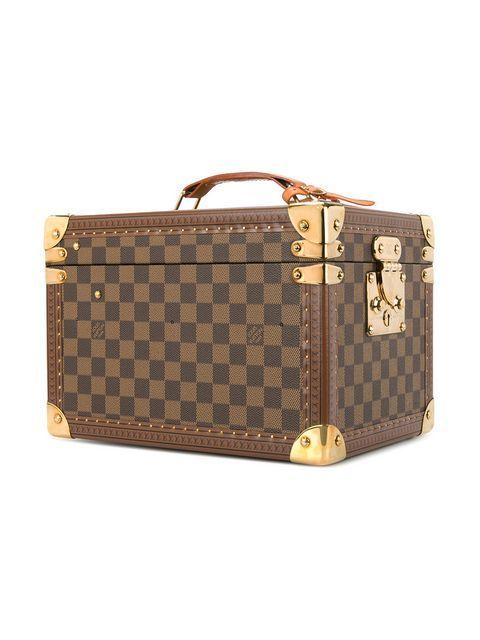 a6976fca4d0 Louis Vuitton Vintage Boite Flacons Cosmetic Bag in 2019   HANDBAGS ⚜ LOUIS  VUITTON   Louis vuitton, Vintage louis vuitton, Bags
