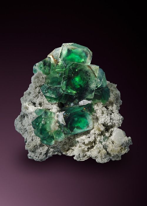 Fluorite from Namibia  by Watzl Minerals