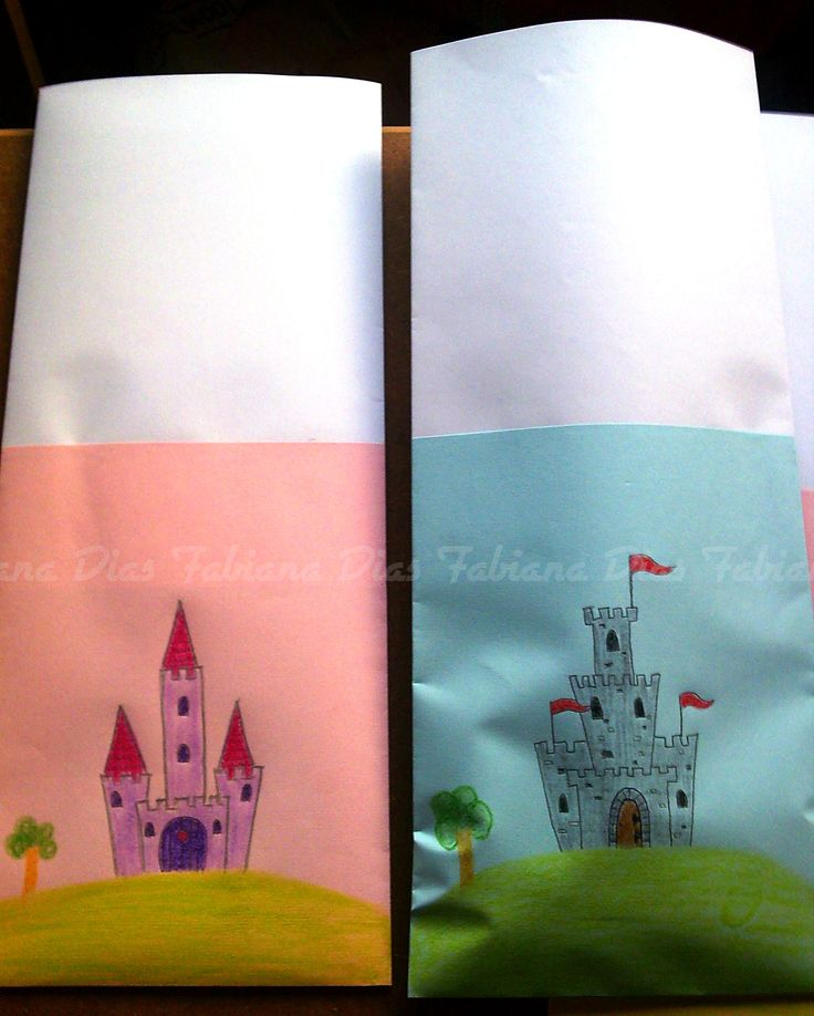 Sacos de papel para lembranças de aniversário
