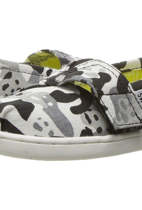TOMS Kids Tai + Wildaid Pandas (Infant/Toddler/Little Kid) (Panda Camo/Black Multi) Kids Shoes - TOMS Kids, Tai + Wildaid Pandas (Infant/Toddler/Little Kid), 10010225-001, Footwear Closed Slip on Casual, Slip on Casual, Closed Footwear, Footwear, Shoes, Gift, - Fashion Ideas To Inspire