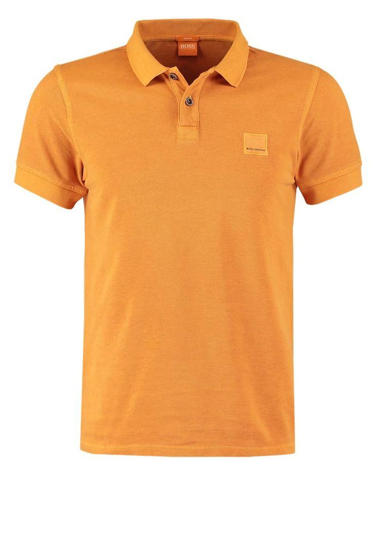 BOSS Orange PASCHA SLIM FIT Poloshirt dark orange Premium bei Zalando.de | Material Oberstoff: 100% Baumwolle | Premium jetzt versandkostenfrei bei Zalando.de bestellen!