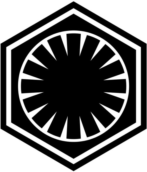 Logo of the First Order - Star Wars
