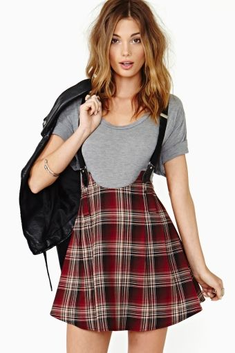I see a suspenders skirt in my near future!