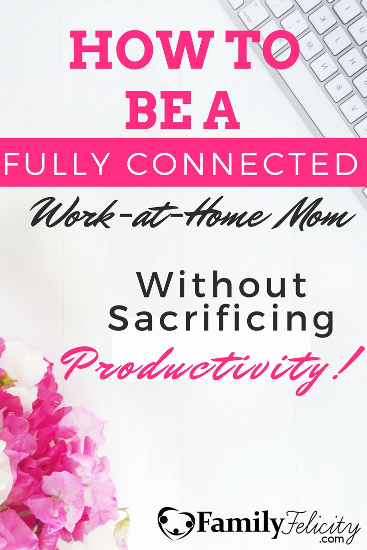 Being a fully-connected mom and a highly productive mompreneur is tough! Click image to learn 3 simple tips to make your work-at-home life easier!