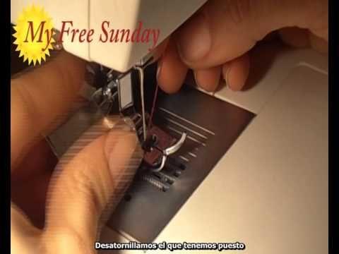 Cómo coser una cremallera invisible (con prensatelas)