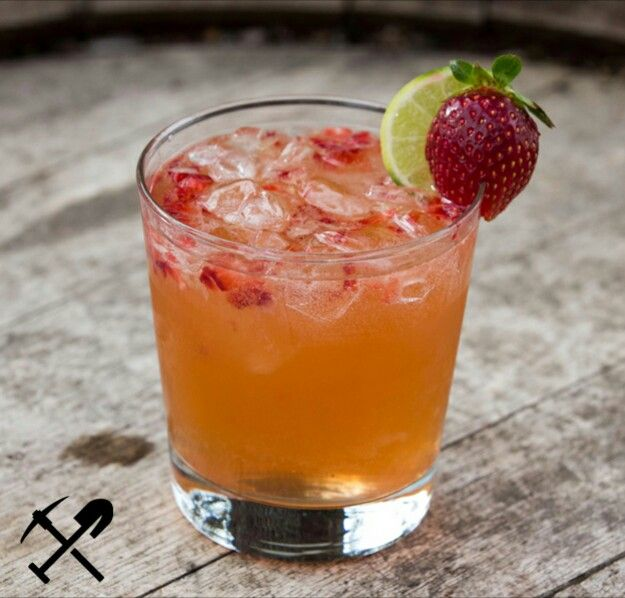 Miner's Mule    1 oz of Grappa Moonshine  2.5 oz Ginger Beer  1/4 of a lime  1 small strawberry  Instructions:  Muddle strawberry at the bottom of the glass.  Add ice, then Grappa Moonshine and ginger beer.   Squeeze in juice from lime wedge, stir, and enjoy!