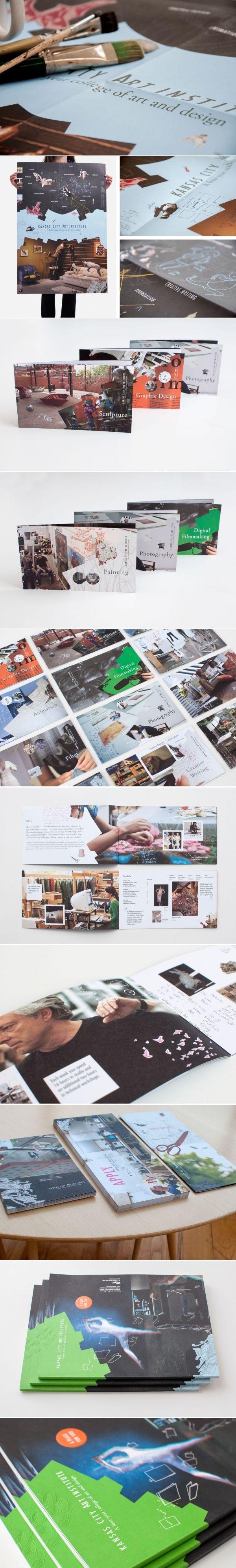 Kansas City Art Institute   Art Direction, Design, Marketing Materials   Design Ranch