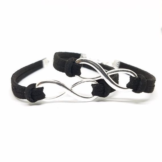 Bracelet couple infini - Bracelet couple ancre ...