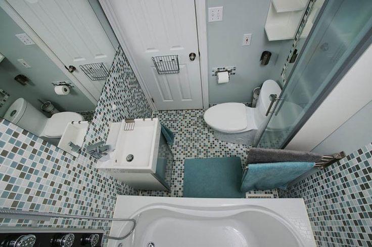 Как увеличить пространство маленькой ванной