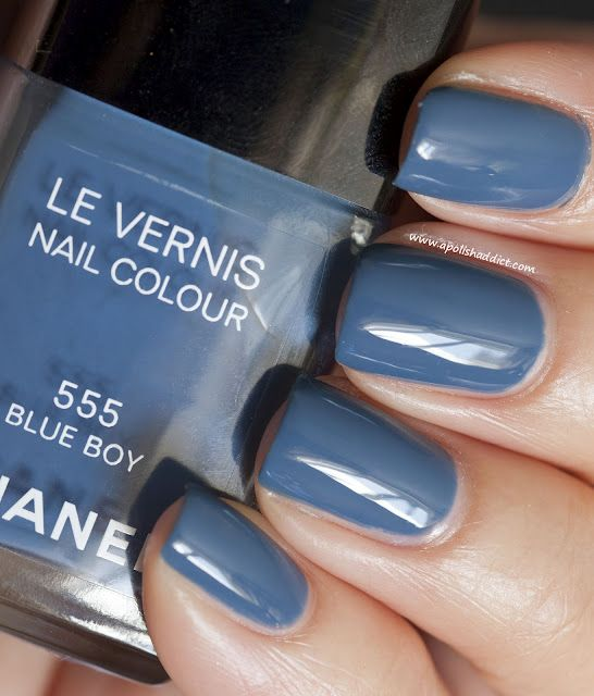 Chanel Blue Boy...gorgeous slate/denim colored polish