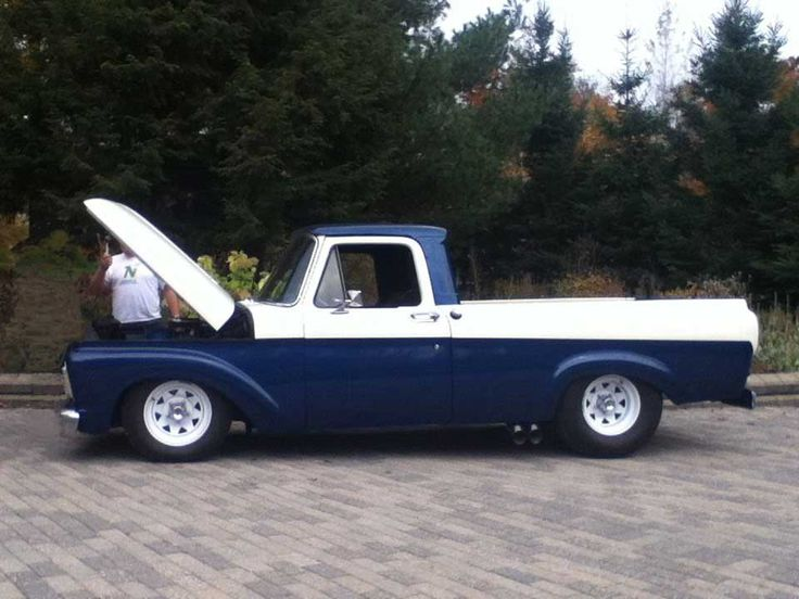 Andre Lanteigne's 1963 Ford F100 | LMC Truck Life