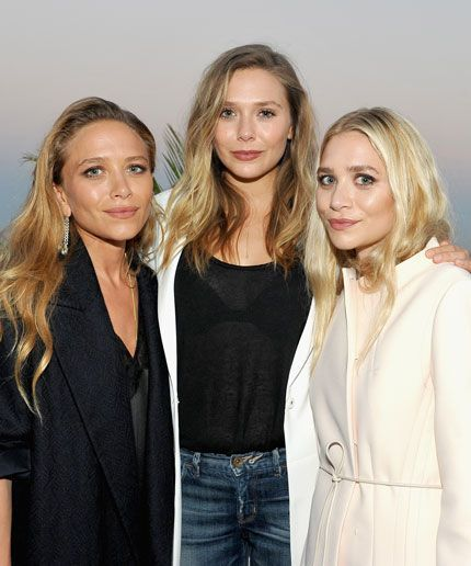 Now There's An Easy Way To Tell Ashley & Mary-Kate Olsen Apart #refinery29  http://www.refinery29.com/2016/07/118231/ashley-olsen-bright-blonde-hair
