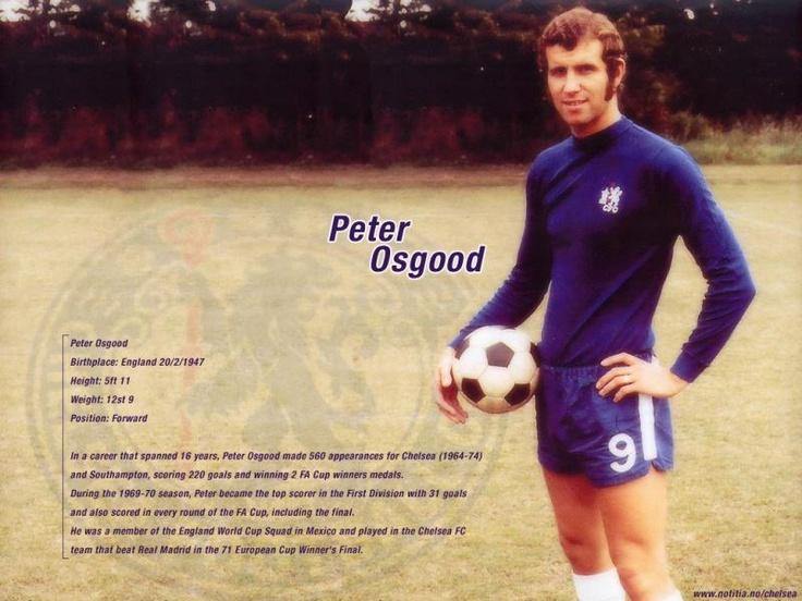 Peter Osgood, The King of Stamford Bridge.