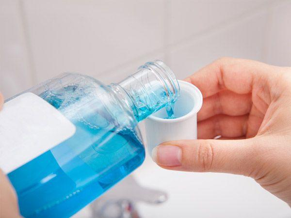 Higiena jamy ustnej płyn do płukania.