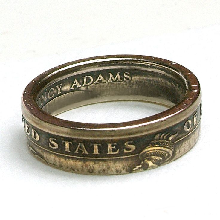 Rings Made From Quarters | ... Ring, Rings Made From A United States Dollar Coin. You Choose Size