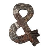 Found it at Wayfair - Antique Tin & Symbol Textual Wall Art