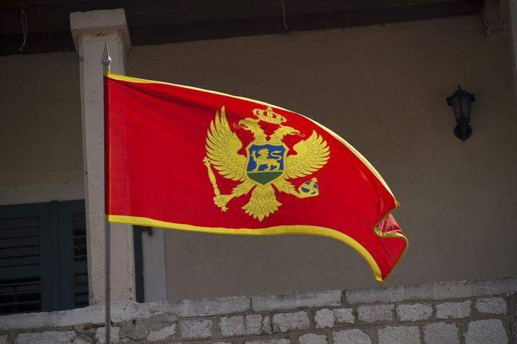 Montenegro flag -