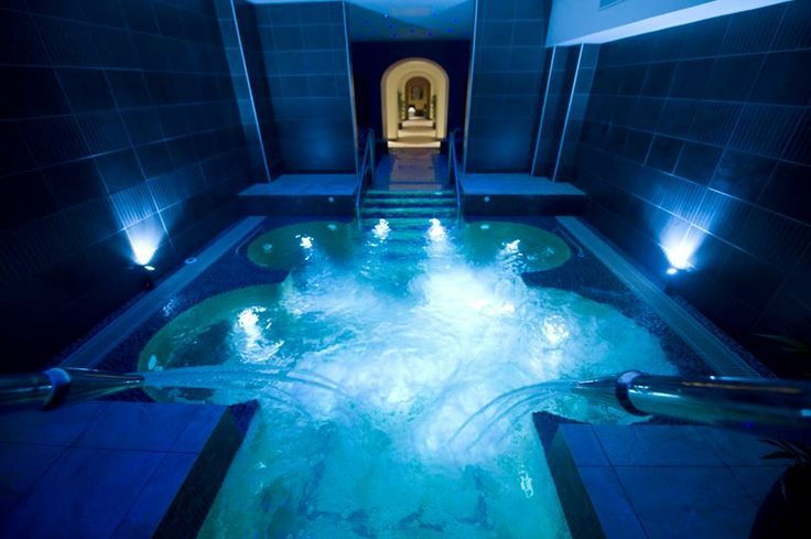 Kilronan Castle, Ireland. Gorgeous spa