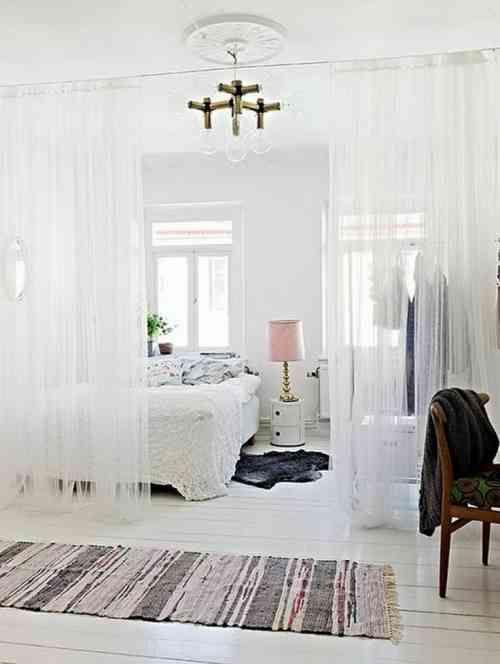 Les rideaux : un séparateur de pièce élégant