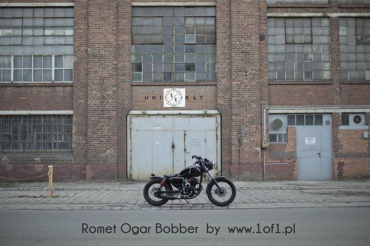 Ogar 125 ccm Bobber by Unikat Motorworks custom garage.