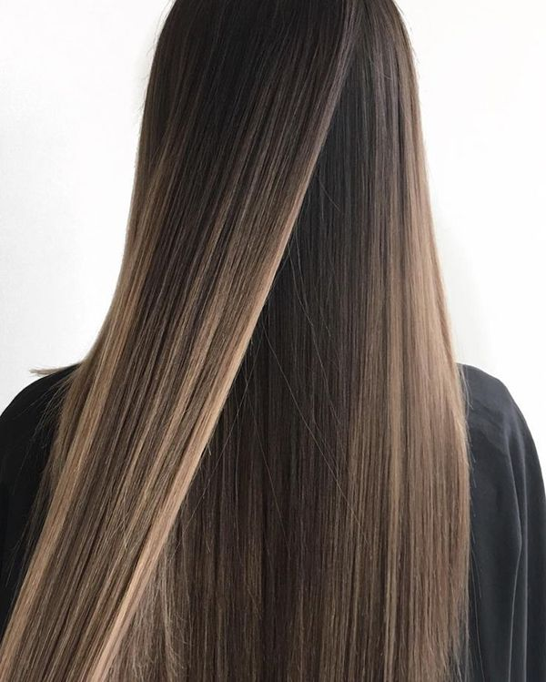 Best Hair Colouring Tips For Straight Hair Balayage Balayage Straight Hair Hair Styles Straight Hairstyles