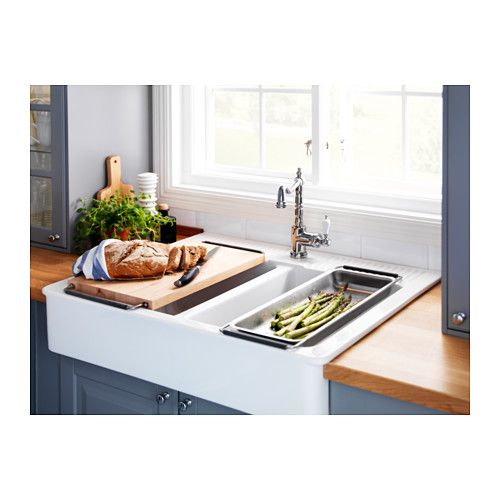 They Have A Cutting Board And Colander That Fit This Sink