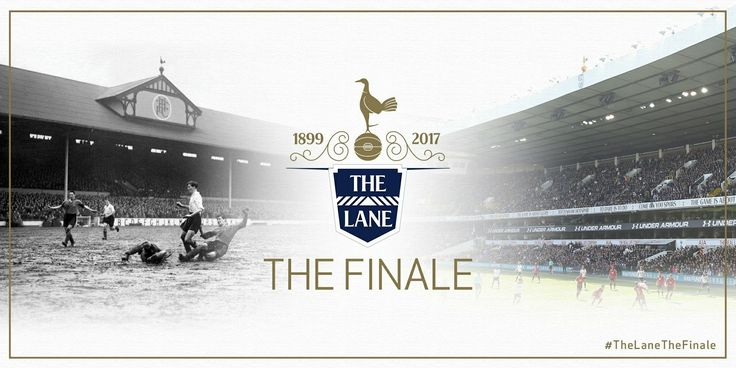 Spurs confirm that this season will be the last at WHL with our final home game against Manchester United on Sunday 14 May 2017. Will be a very emotional day.