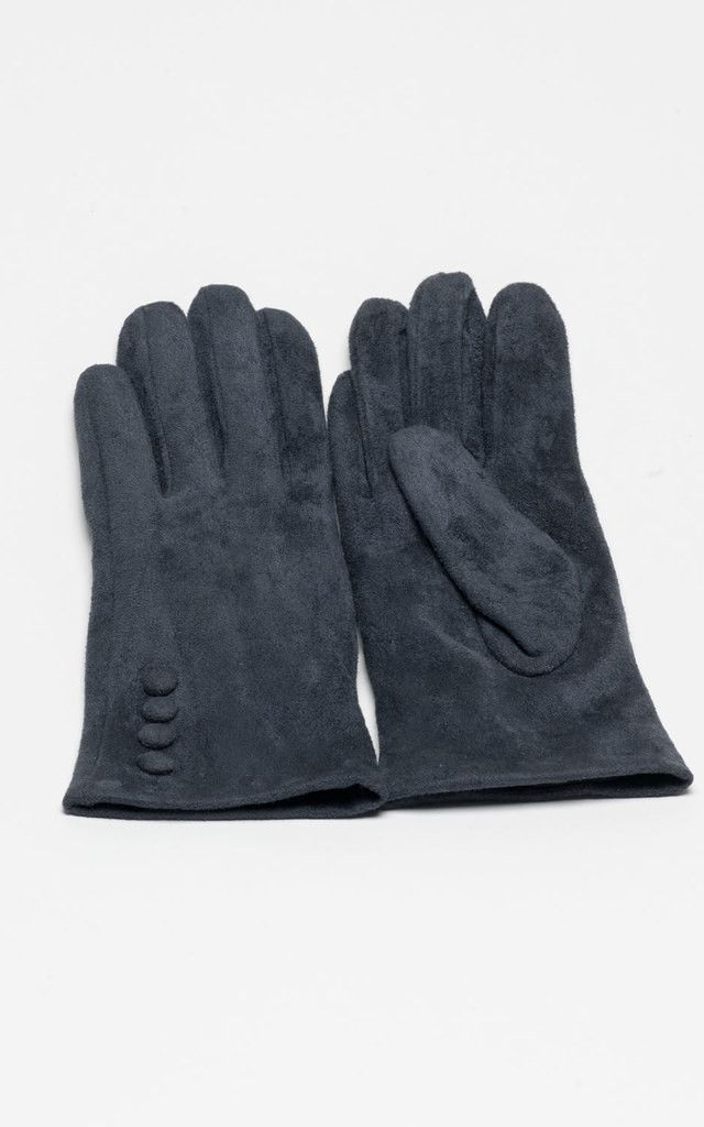 These grey gloves will keep your hands snug this winter with class, in a simple colour, easy to wear with anything!