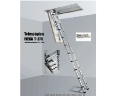 ESCALERA PLEGABLE TELESCOPICA MODELO 7-270