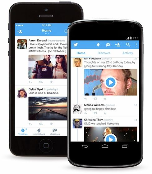 Post #photos in #direct #messages or DM on Twitter #smartphone application on iOS and Android.
