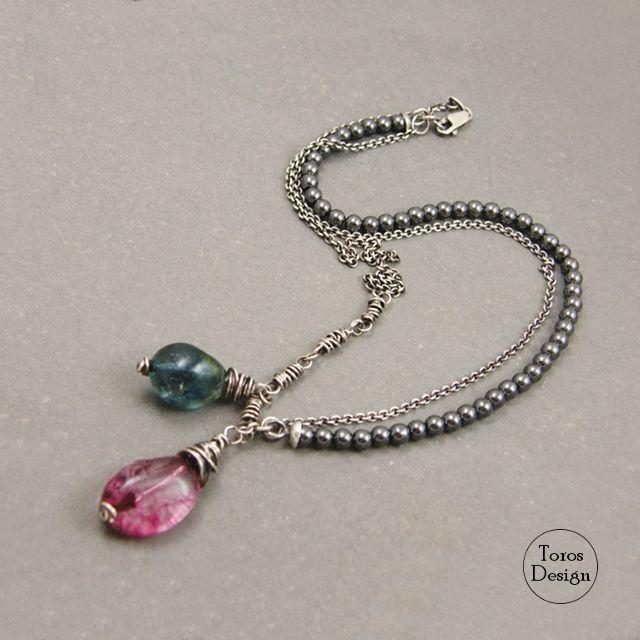 Tęczowy / Toros Design / Biżuteria / Naszyjniki