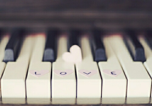 Music and Love... Hand in Hand.