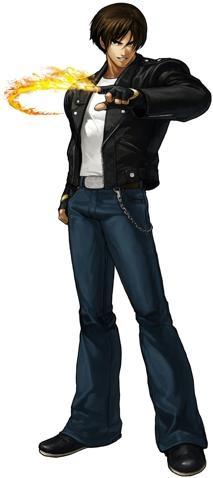 Este es el Outfit Más Reciente de Kyo Kusanagi en el Videojuego The King Of Fighters XIII.  © 2012 SNK PLAYMORE CORPORATION. All Rights Reserved.