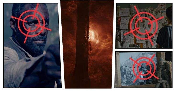 Finalmente foi divulgado o primeiro trailer oficial deA Torre Negra! O filme se baseia na série de livros de Stephen King e tem Idris Elba na pela do pistoleiroRoland Deschain. Confira nossa análise com todos os segredos do trailer! Imagens: Divulgação