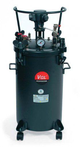 Serbatoio sottopressione AT10/20/40/60 - G.B.V.   Airless / Pressure vessel with pressure control product Capacity: 10 lt. / Min. 20 lt. / Min. 40 lt. / Min. 60 lt. / Min. 80 lt. / Min. Max: 4.1 bar