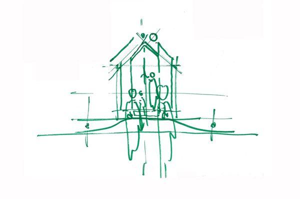 El prestigioso arquitecto italiano Renzo Piano ha diseñado un nuevo integrante del Vitra Campus de Weil am Rhein: Diogene. El edificio más pequeño de Vitra hasta el momento -pero a la vez su mayor producto- está ubicado en una colina, entre VitraHaus y la cúpula geodésica. © Vitra (Fotografía: Ariel Huber) La idea de habitar …