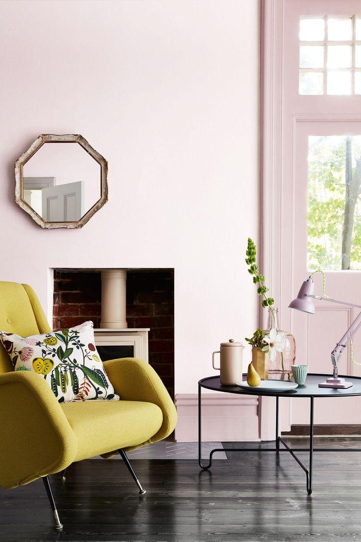 Nieuwe collectie 'Pink' van Little Greene Paint. Gebruikte kleuren: Dorchester Pink Mid 286, Dorchester Pink 213