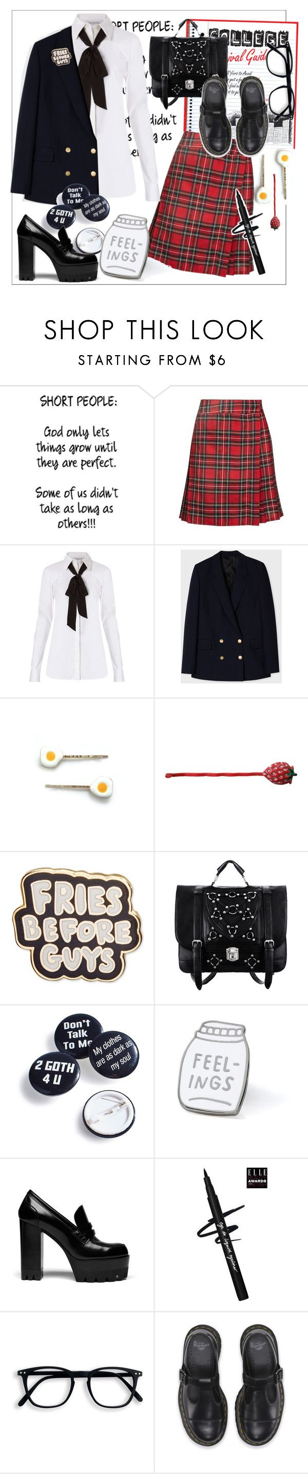 """Uniform style"" by tiraboschi-b ❤ liked on Polyvore featuring Guide London, Motel, Diane Von Furstenberg, Paul Smith, Crown and Glory, ban.do, Witch Worldwide and Mulberry"