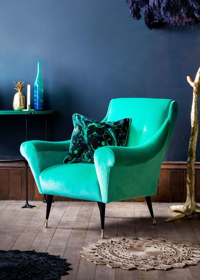 Estelle Teal Tango Chair
