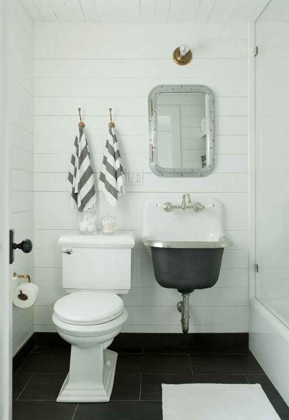 shiplap walls bathroom - Google Search