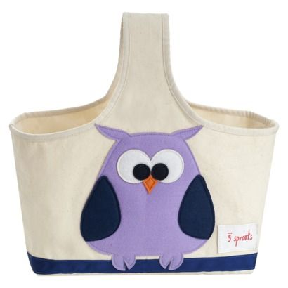 3 Sprouts Storage Caddy Owl.Opens in a new window