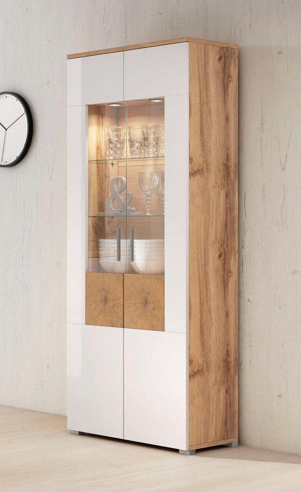 Vitrine »Wobona«, Höhe 180 cm mit 2 Türen