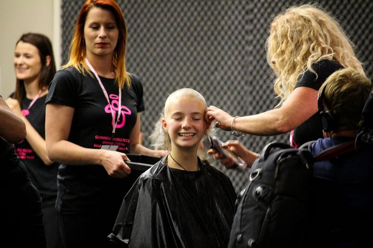 Bald Angels - a community breaking a world record for its underprivileged youth. ZHIZHY Photos