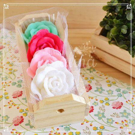 rosas mini, primavera provence - Empório Coralina