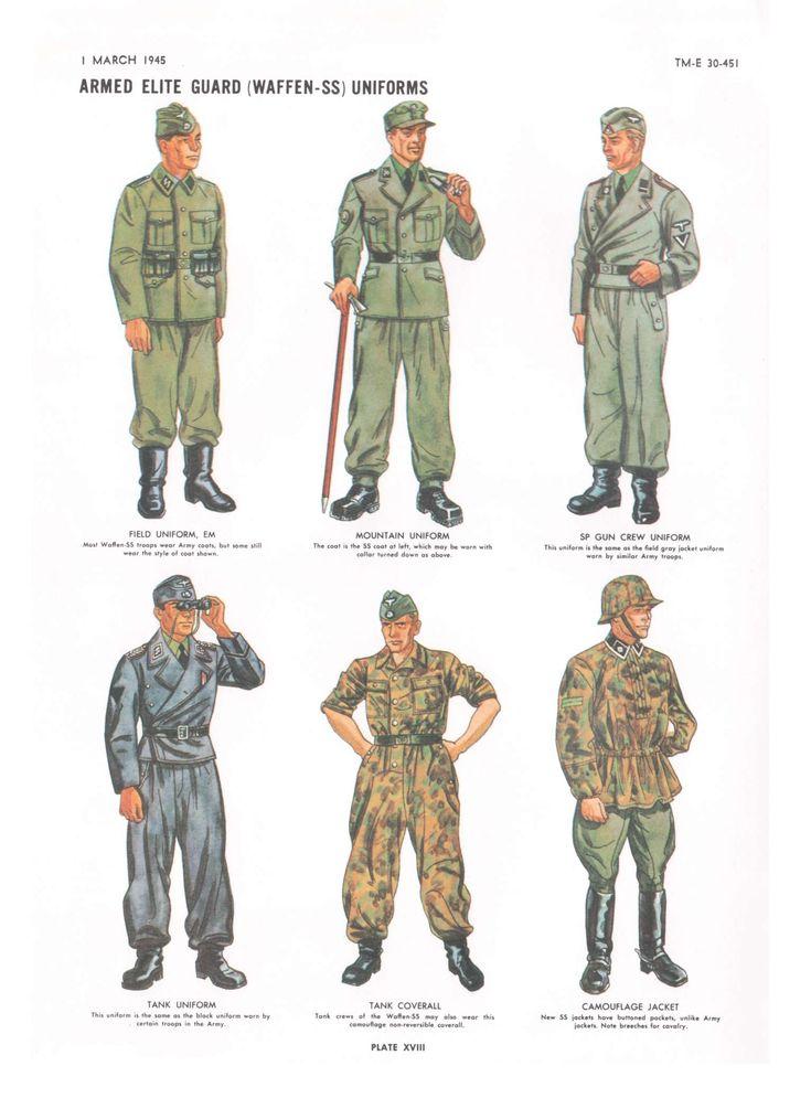 waffen-ss uniforms | scale modeling figures | Ww2 uniforms ...