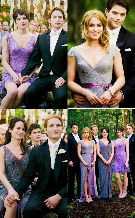 Everybody's happy at Bella and Edwards wedding. #BD1 #Twilight Saga